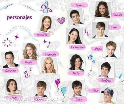 Les acteurs dans violetta quiz c l brit s people - Image de violetta et ses amies ...