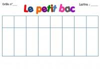 Quiz Jeu Du Petit Bac A L Envers Sport Loisirs